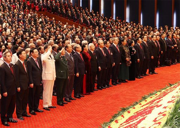Khai mạc trọng thể Đại hội lần thứ XIII Đảng Cộng sản Việt Nam