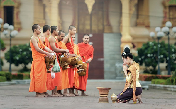 Nét đẹp trong đời sống tâm linh ở Thái Lan