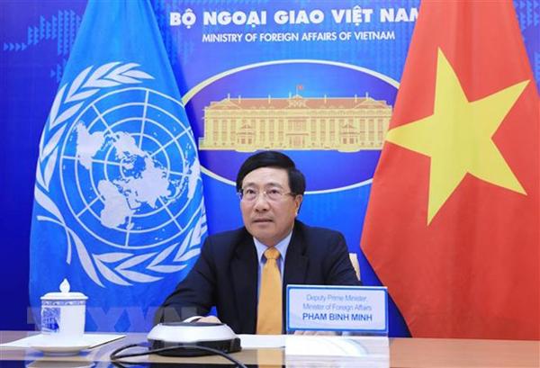 Phó Thủ tướng, Bộ trưởng Ngoại giao dự Phiên thảo luận của HĐBA LHQ