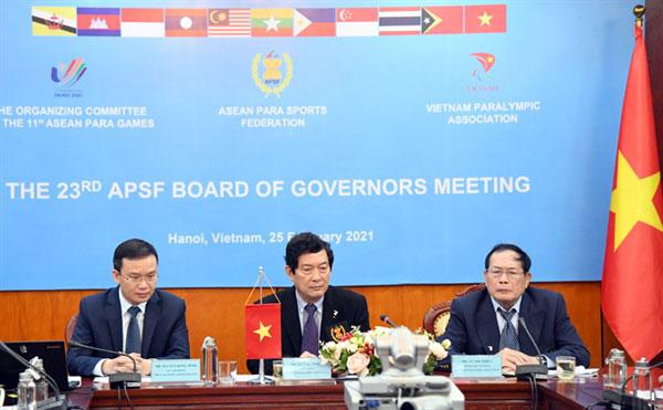 Việt Nam chính thức nhận quyền đăng cai ASEAN Para Games 11