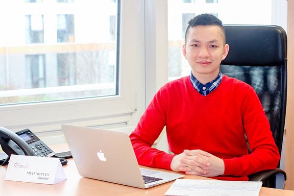 Chàng trai Việt bỏ nghề đạo diễn, mở trung tâm điều dưỡng ở Đức