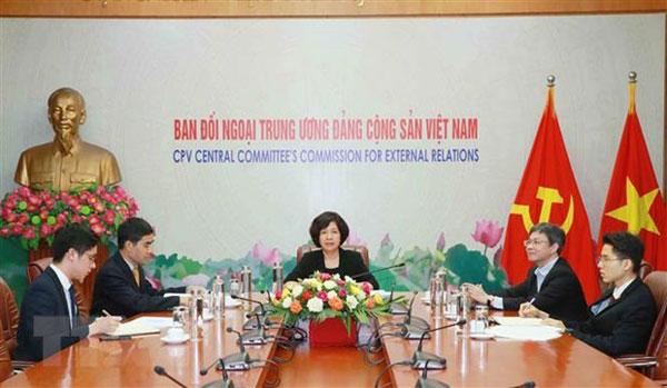 Đoàn đại biểu Đảng Cộng sản Việt Nam dự Cuộc họp lần thứ 35 ICAPP