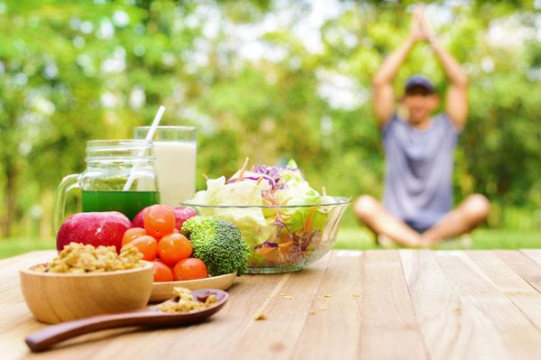 Dinh dưỡng phù hợp cho người tập Yoga