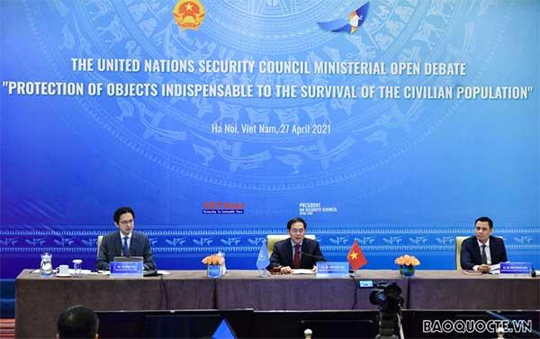 Cái kết đẹp cho tháng Chủ tịch Hội đồng Bảo an