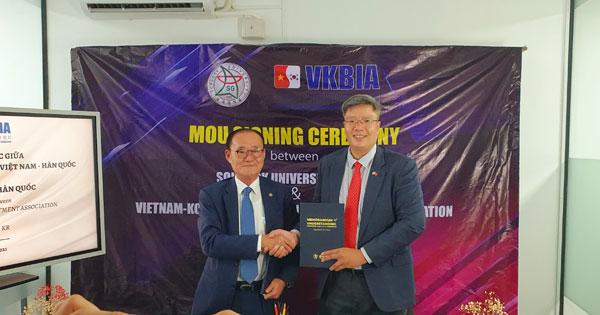 VKBIA – Songgok hợp tác đào tạo, phát triển nguồn nhân lực chất lượng cao tại Việt Nam và Hàn Quốc