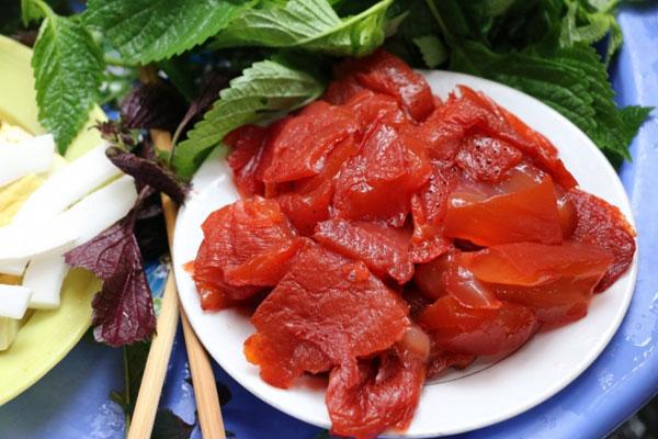 Sứa đỏ - Món ăn đặc trưng đất Cảng