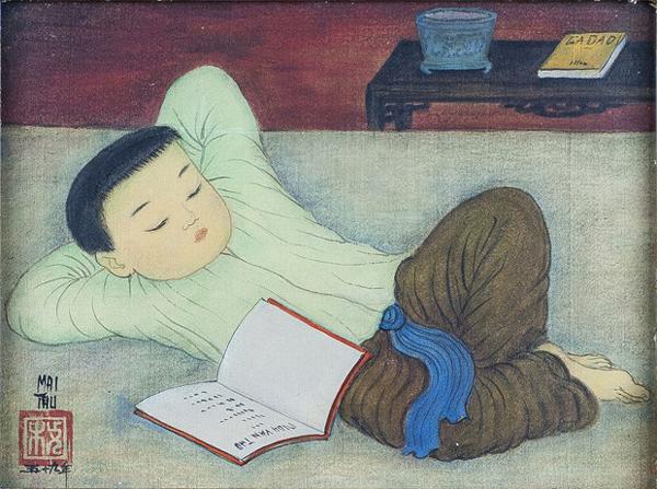 Triển lãm tranh của họa sỹ Mai Trung Thứ tại nhà ga Lyon của Pháp