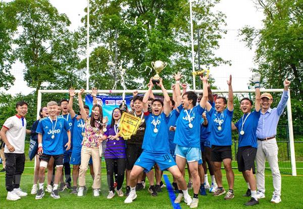Sôi động Giải Bóng đá mùa Hè của sinh viên Việt Nam tại Pháp