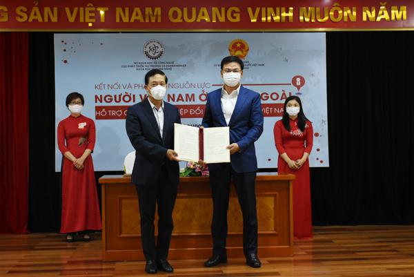 Kết nối và phát huy nguồn lực người Việt Nam ở nước ngoài hỗ trợ cho khởi nghiệp đổi mới sáng tạo