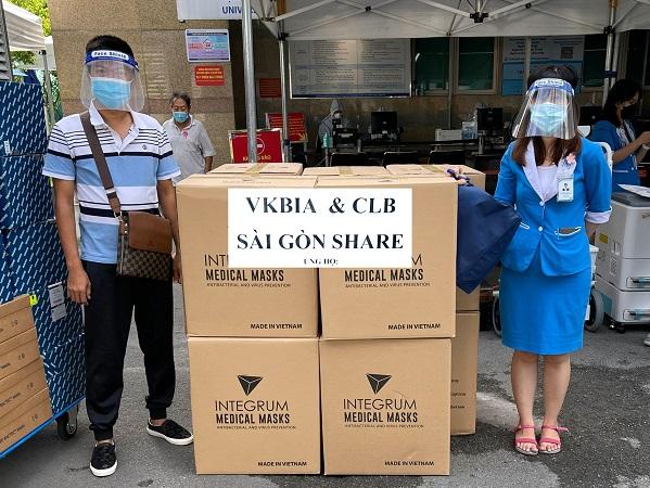 """VKBIA và """"Saigon Share"""" tiếp tục chung tay phòng chống dịch tại TP. Hồ Chí Minh"""