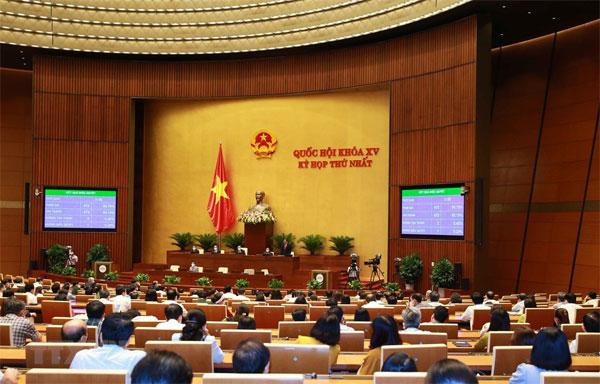 Quốc hội tiến hành quy trình bầu Chủ tịch nước và Thủ tướng Chính phủ