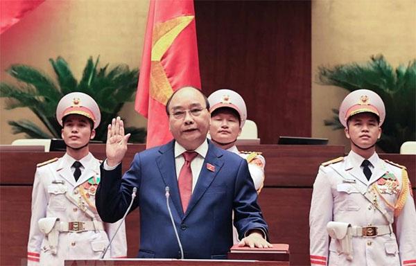 Ông Nguyễn Xuân Phúc trúng cử chức vụ Chủ tịch nước