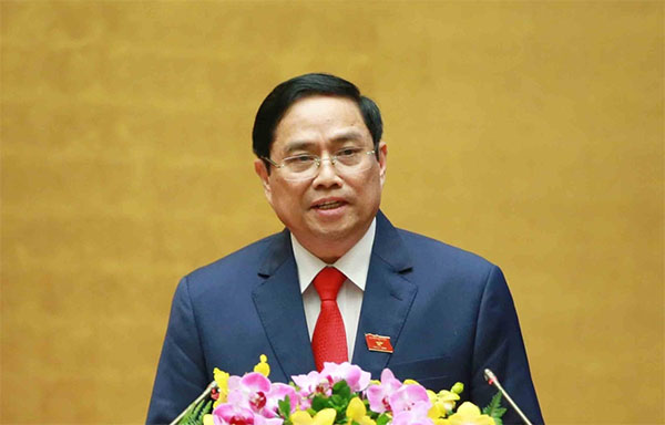 Ông Phạm Minh Chính giữ chức Thủ tướng Chính phủ nhiệm kỳ 2021-2026