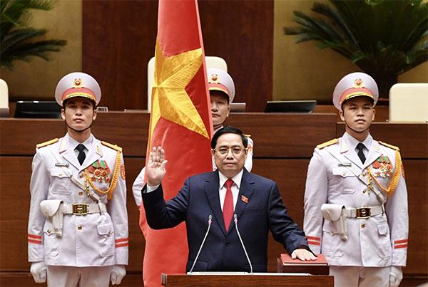 Thủ tướng Phạm Minh Chính tuyên thệ nhậm chức trước Quốc hội