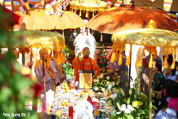 Đại Lễ Vu Lan báo hiếu tại chùa Phổ Đà ở Berlin