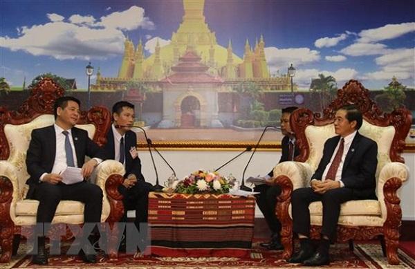 Sớm ký kết Hiệp định sửa đổi Hiệp định Thương mại Việt Nam-Lào