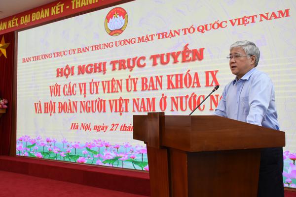 Quyết tâm triển khai hiệu quả Kết luận của Bộ Chính trị về công tác NVNONN trong tình hình mới