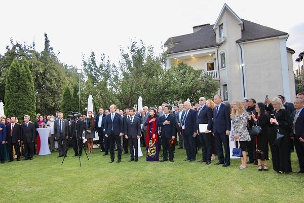 Đại sứ quán Việt Nam tại Ucraina tổ chức kỷ niệm 76 năm Quốc khánh 2/9