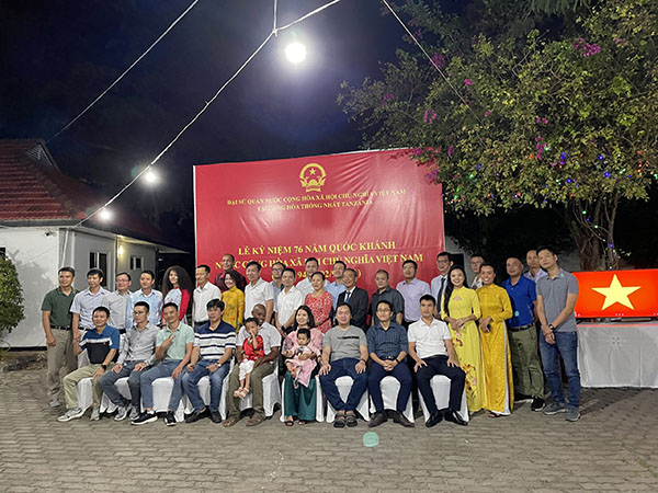 Kỷ niệm lần thứ 76 Quốc khánh Việt Nam tại Tanzania