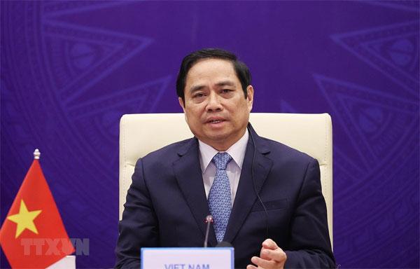 Thủ tướng dự Hội nghị Thượng đỉnh Hợp tác Tiểu vùng Mekong mở rộng
