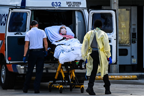 Tình hình COVID-19 sáng 5/9: Hơn 4,61 triệu bệnh nhân đã tử vong