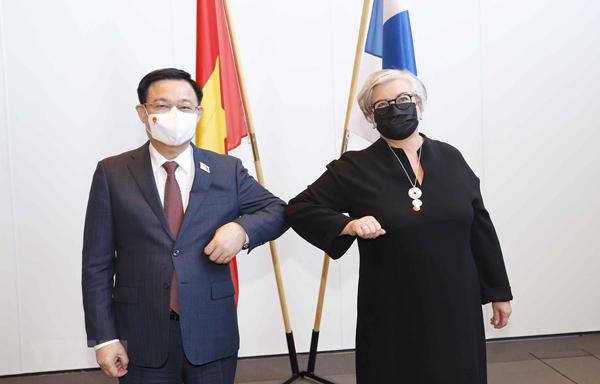 Việt Nam-Phần Lan thúc đẩy hợp tác nghị viện và hợp tác nhiều lĩnh vực