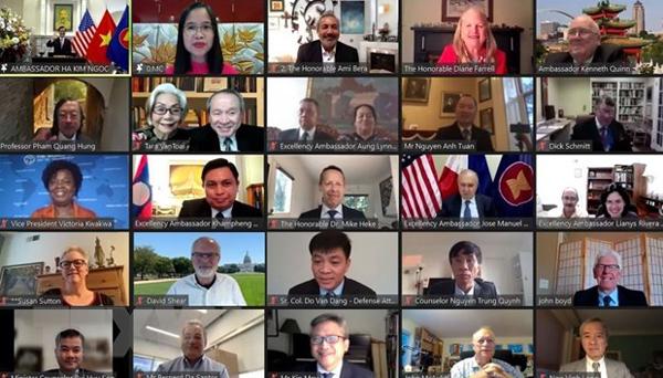 Đại sứ Hà Kim Ngọc: Việt Nam coi trọng quan hệ Đối tác Mekong-Mỹ