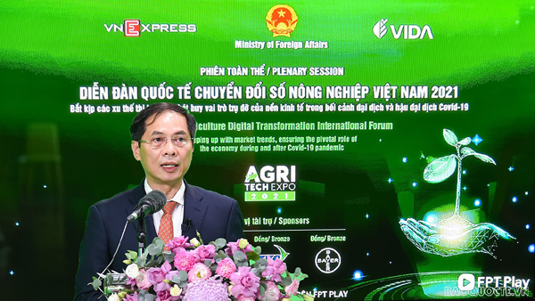 Bộ Ngoại giao tiên phong, đồng hành với địa phương, doanh nghiệp và người dân trong chuyển đổi số nông nghiệp