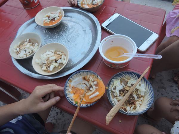 Nhớ món bánh bèo Cù Lao Chàm