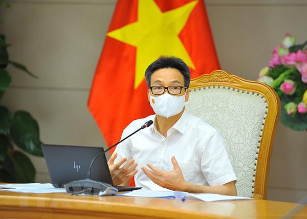 Phó Thủ tướng Vũ Đức Đam làm việc với Thành ủy TP.HCM về chống dịch