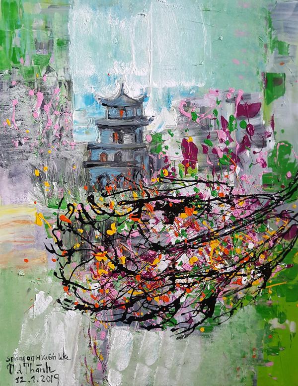 Hà Nội trong hội họa Văn Dương Thành