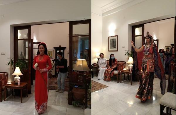 Điểm tương đồng trong trang phục truyền thống phụ nữ Việt Nam-Ấn Độ