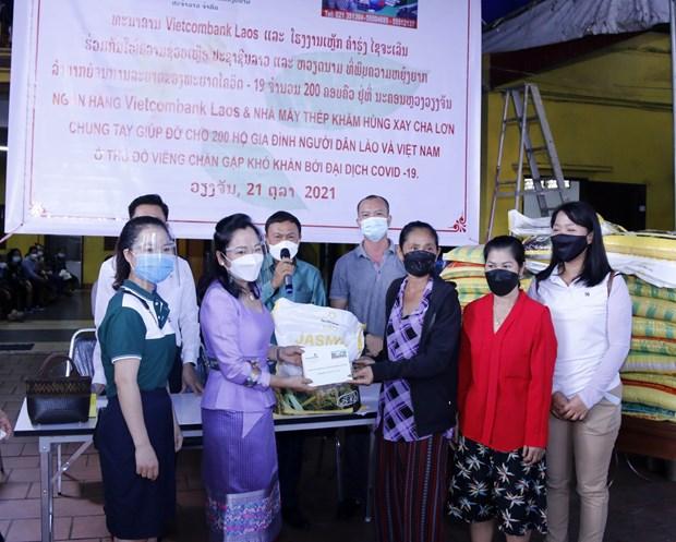 Cộng đồng người Việt chung tay hỗ trợ người dân Lào-Việt gặp khó