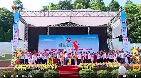 Khai mạc Trại hè Việt Nam 2018