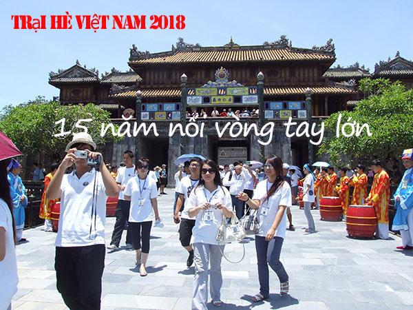 Trại hè Việt Nam 2018 – 15 năm nối vòng tay lớn
